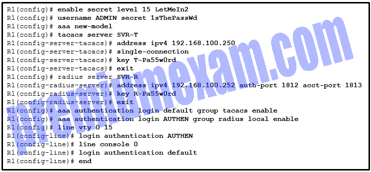 Implementing Network Security (Version 2.0) – CCNAS Final Exam Answers 2019 04