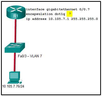 CCNA2 v7 SRWE - Modules 1 - 4: Switching Concepts, VLANs, and InterVLAN Routing Exam Answers 16